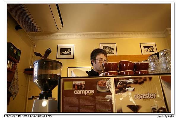 帥哥咖啡調理師出沒