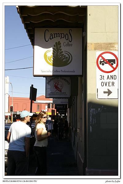 Campos Cafe的招牌