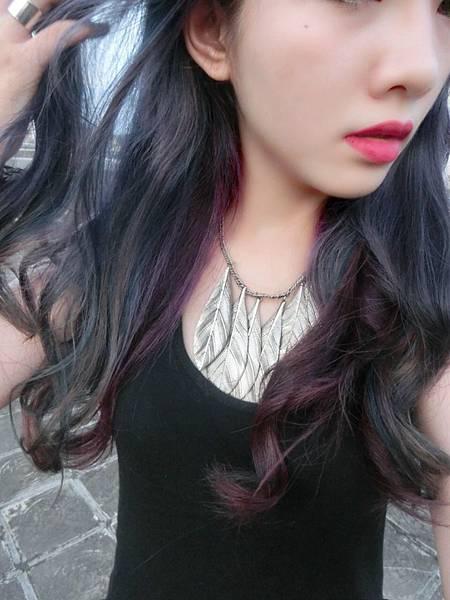 高雄女生染髮造型
