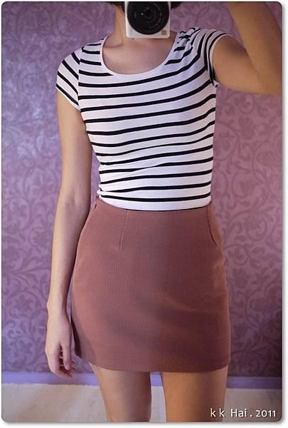 格紋布窄裙 (11).JPG