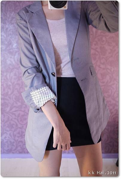 格紋布窄裙 (10).JPG