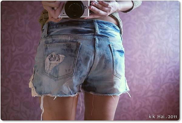 蕾絲牛仔短褲 (13).JPG