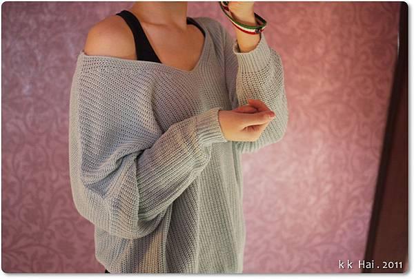 針織V領衫 (4).JPG