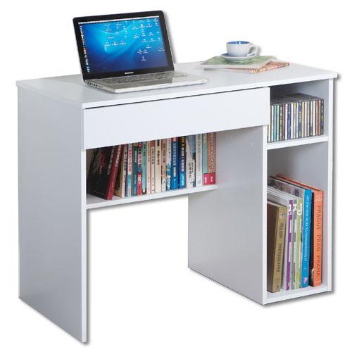英倫白電腦桌