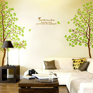 壁貼-情侶樹