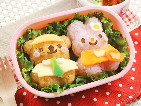 換裝熊兔飯糰模具 (3)