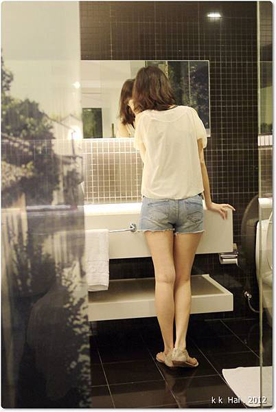 蕾絲露肩雪紡衫 (3)