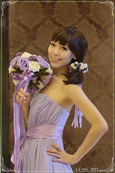 韓版平口長禮服 (15)