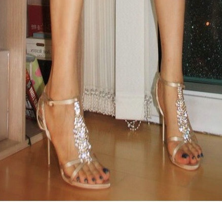 水鑽涼鞋 (2)