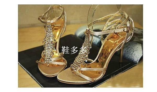 水鑽涼鞋 (1)