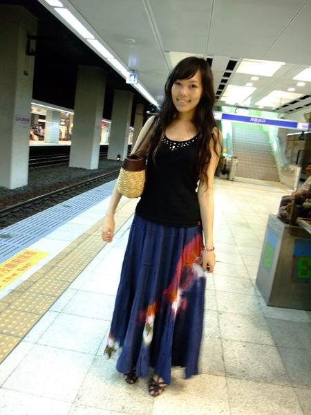 第一次搭台灣的火車