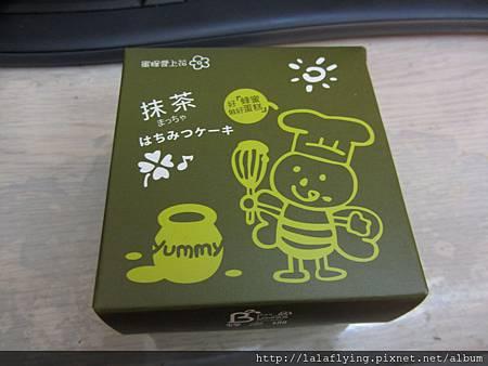 ☆花蓮蜂之鄉☆小盒抹茶蜂蜜蛋糕