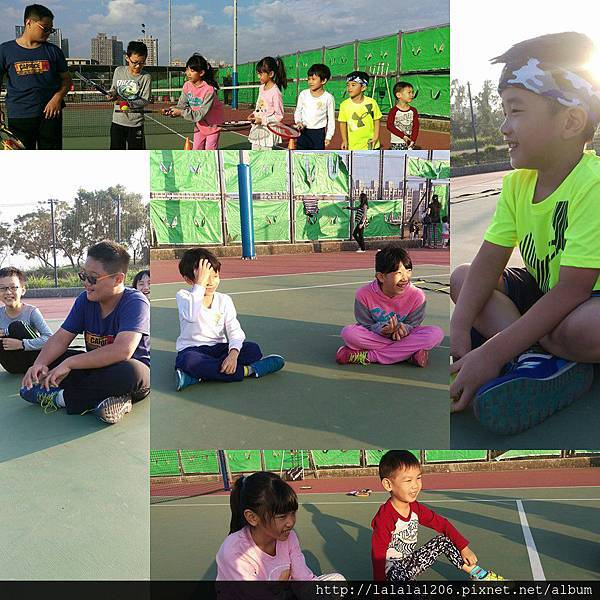 三月 兒童網球