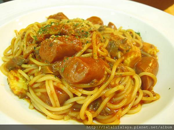 義式香腸肉醬義大利麵
