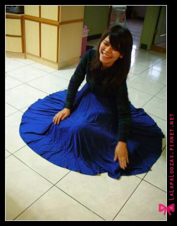 這就是外婆的大圓裙