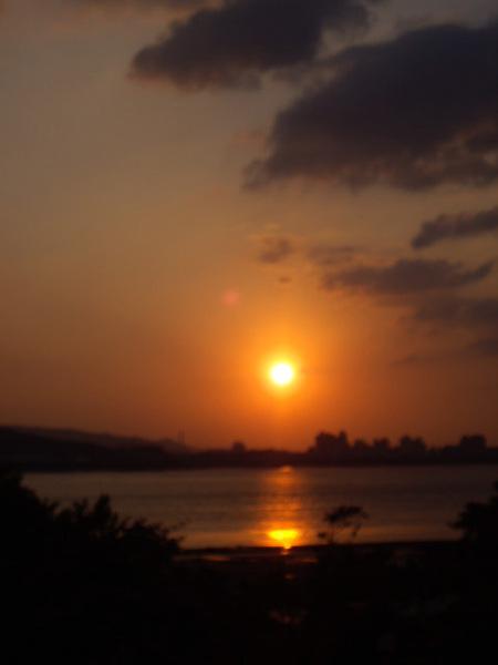 好美的夕陽