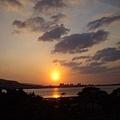 八里的夕陽