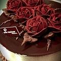 經典巧克力+80%生巧克力玫瑰花~530