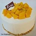 鮮奶芒果蛋糕 NT450