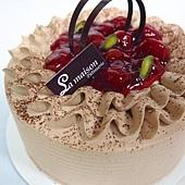 櫻桃巧克力蛋糕 NT450