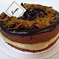 榛果巧克力蛋糕 NT290