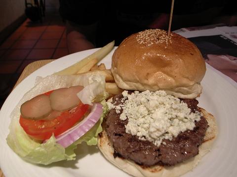 樂子 theDiner 藍起司漢堡 blue cheese burger