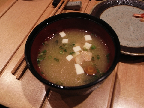 游壽司 味增湯