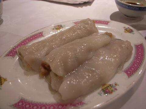 香港 北角鳳城酒家 香滑牛肉腸