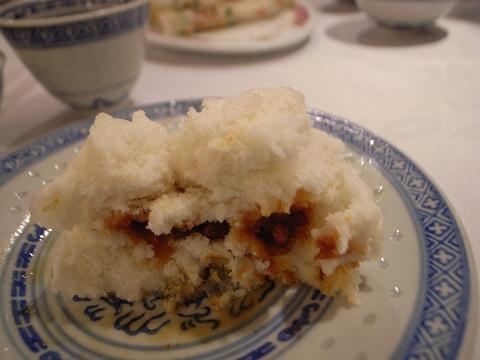 香港 北角鳳城酒家 蜜汁叉燒包