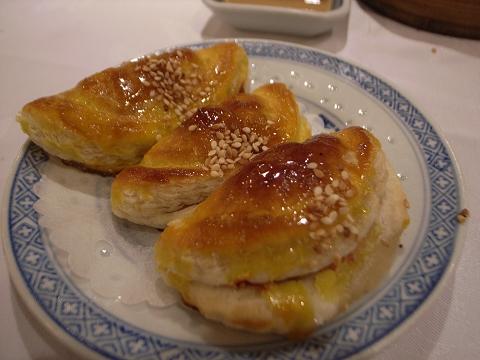 香港 北角鳳城酒家 香麻叉燒酥