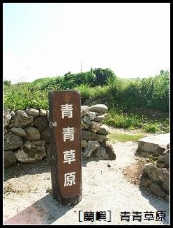 蘭嶼 青青草原