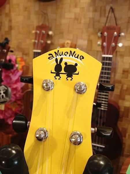 aNueNue U900 彩色琴 (夏威夷熱帶黃)