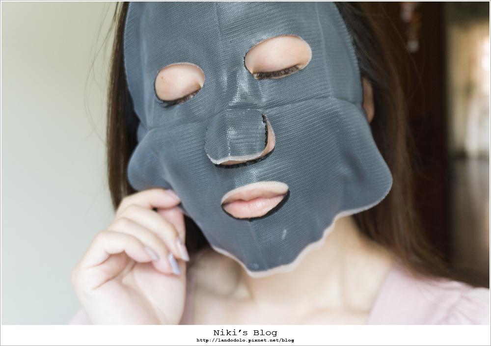 美博士專業級大安瓶修護黑面膜