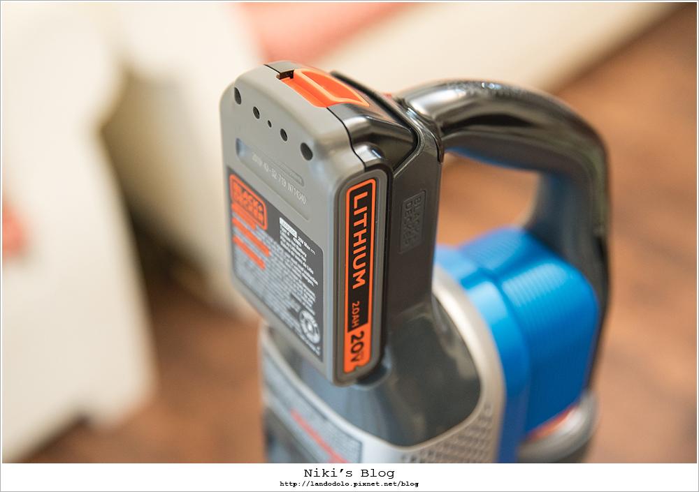 BLACK&DECKER 百工 無線手持吸塵器