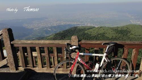 20120703單車上大屯山01.JPG