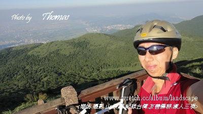 20120703單車上大屯山02.JPG