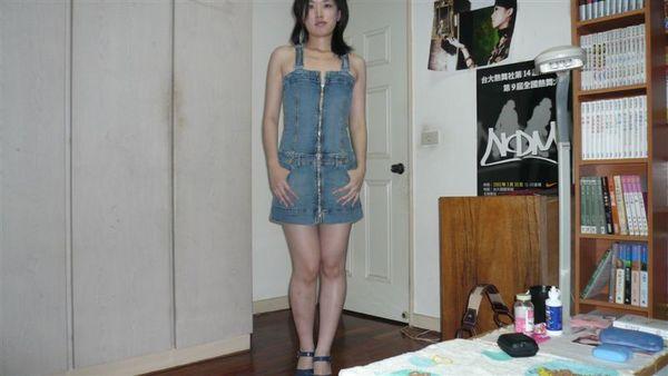 diesel牛仔連身短裙