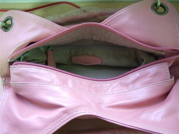 Luka小百合肩包-粉色