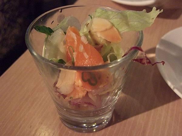 110527 Miso-輕炙刺身杯先付