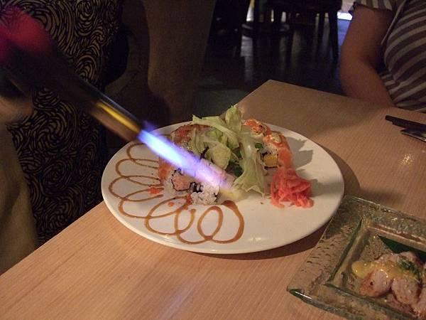 110527 Miso-鮭魚火焰捲