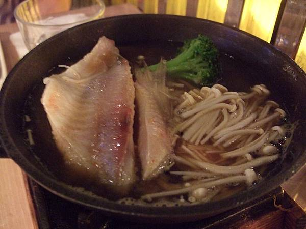 110527 Miso-黃鰭鮪魚腹鐵釜燒