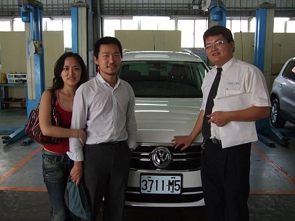 VW Tiguan交車