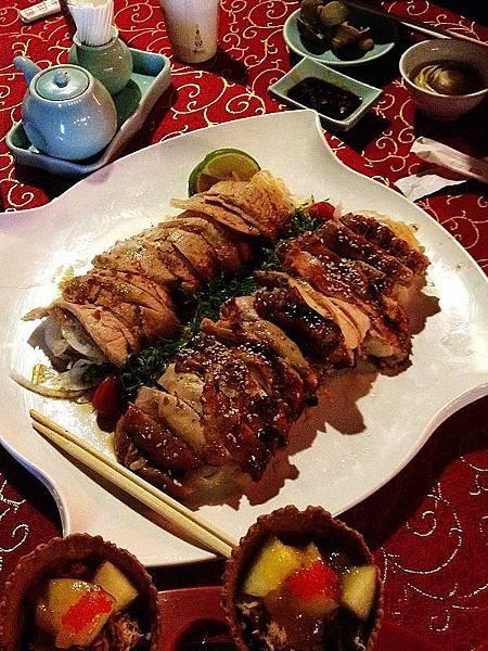 120513松屋洋風和食-松阪豬&醬燒雞肉