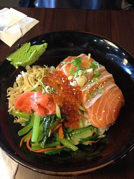120521原味屋-鮭魚親子丼220