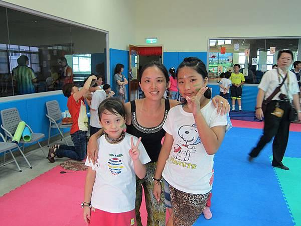 120713萬華運動中心超級小健將暑期營隊非洲舞第一梯 (3)