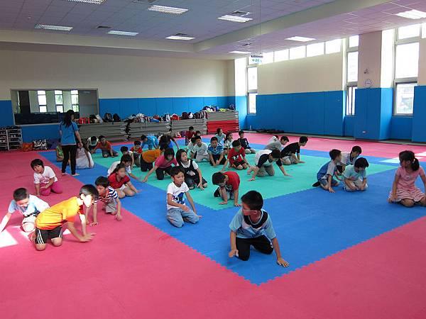 120816萬華運動中心超級小健將暑期營隊非洲舞第四梯 (1)