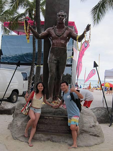 120616 Duke Kahanamoku Statue (3)