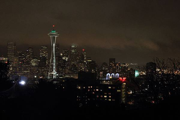 130312 Seattle Night View by Ben