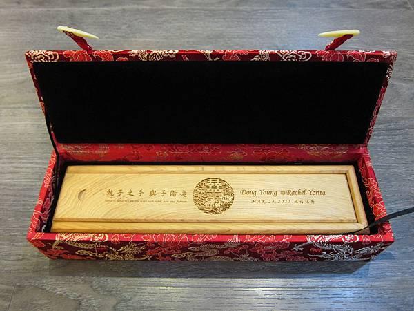 烏徠台灣檜木 - 福祿鴛鴦筷 (2)