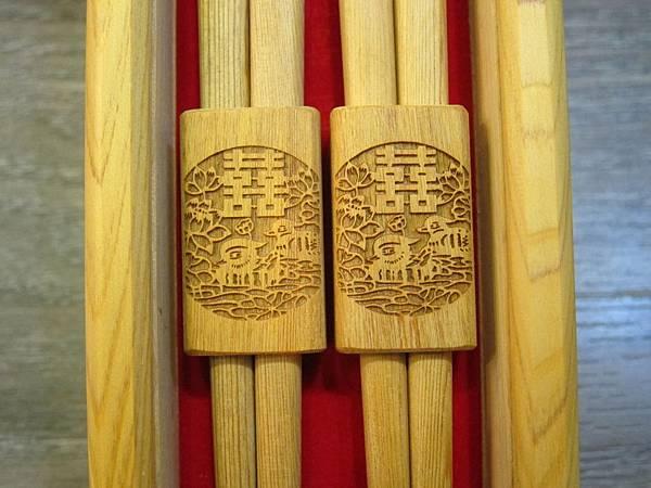 烏徠台灣檜木 - 福祿鴛鴦筷 (7)